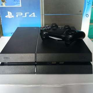 Ps4 Phat 500GB 3 Games Cuh 12xxx Charcoal black