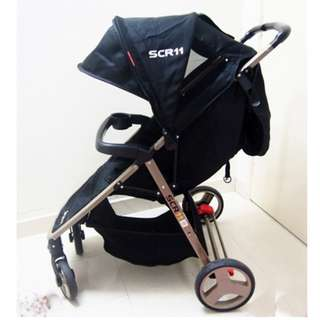 CLEARANCE SWEET CHERRY STROLLER [SCR 11]
