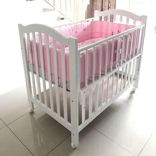 Baby Cot (complete set)