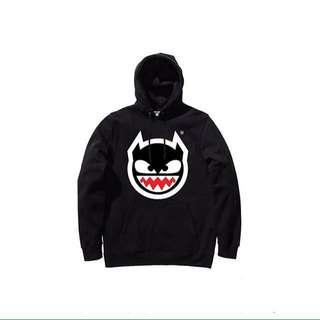 Dirty harry hoodie size M condisi baru bgt