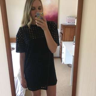 Topshop mesh dress
