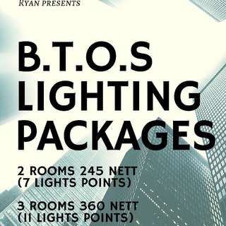 Lightings/ BTOS Lighting packages/ LED lights