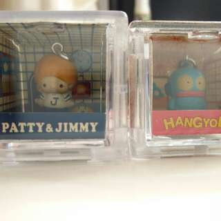 [中古] [絕版] 2001 Sanrio Characters Box Collection Jimmy 同 Hangyodon