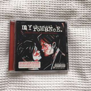 Three Cheers For Sweet Revenge - MCR/My Chemical Romance CD