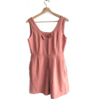 Leona, Romper, Nude Pink, Free Size, Casual