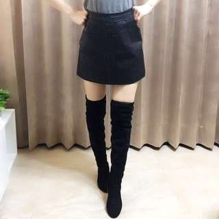 9.999成新正韓 麂皮過膝長靴($1000)可小小議