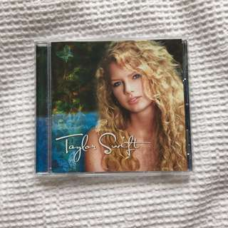 Taylor Swift Self Titled CD