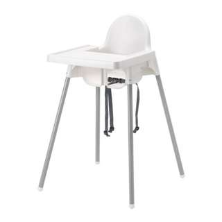 Clearance Ikea high chair
