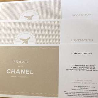 Chanel Beauty Lounge (Changi Airport, Terminal 3 Departure) Voucher