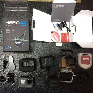 WTS: GoPro Hero 5 with extra accessories