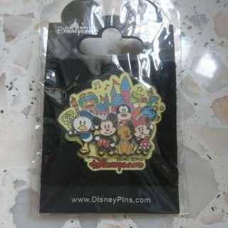 Hongkong disneyland pin