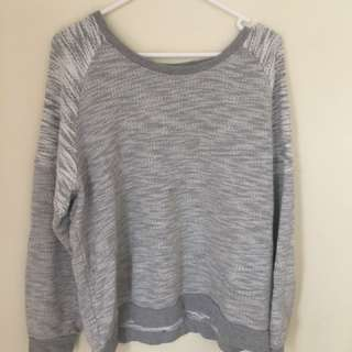 Grey Jumper (says 18 but size M)