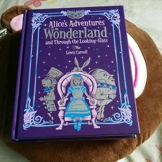 Alice in Wonderland (leatherbound classic)