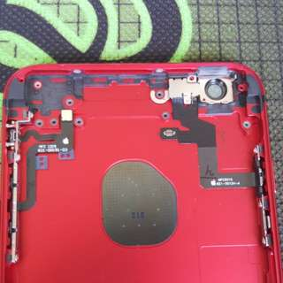 Iphone 6s plus red oem rear housing
