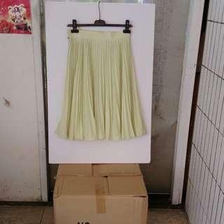 🚚 百摺裙 義大利布料日本精品廠製作腰圍26,5寸