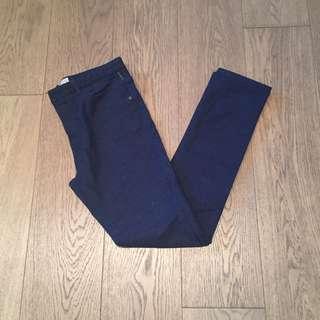 Zara Navy Blue Jeans trousers pants