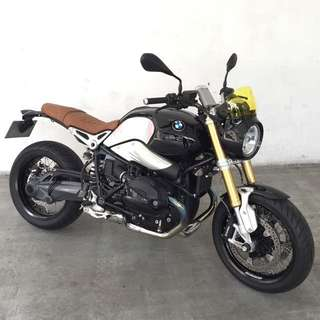 BMW RNineT with PML Local BMW Agent Warranty till 21/07/2016. One Expat owner. Registered On 22/07/2016