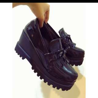 🚚 厚底牛津鞋