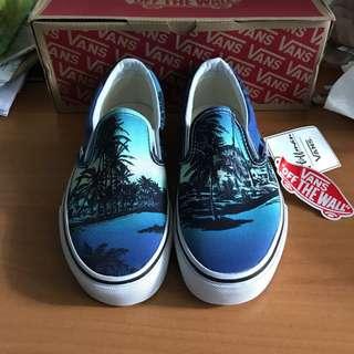 Vans - classic slip on (Hoffman/Blue)