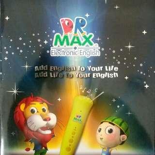 Dr.Max電子教英文工作纸