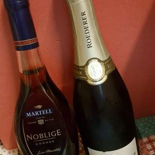 Martell & Louis Roederer