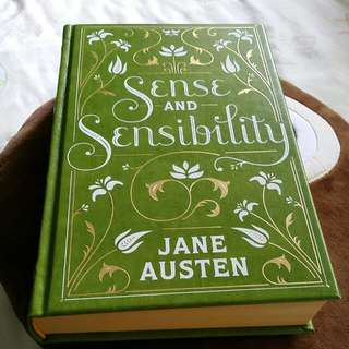 Sense and Sensibility by Jane Austen - leatherbound