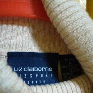 liz claiborne Cream Sweater