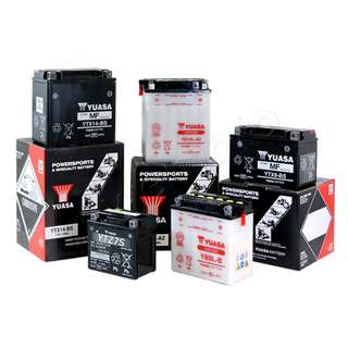 Yuasa Batteries - Replacement + Delivery + Emergency service