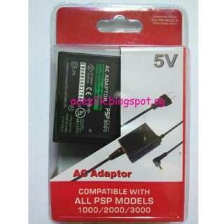 [BNIB] PSP AC Power Adapter (Brand New Boxed)