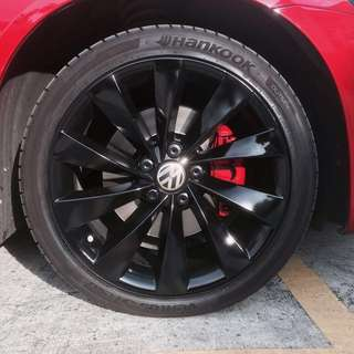 Rims spray & Caliper spray