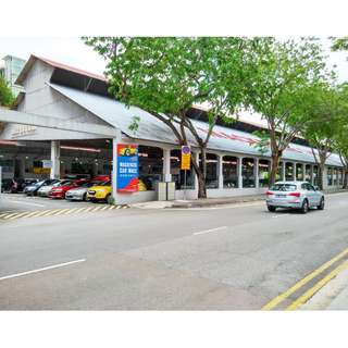 Vacant Units for Lease at Mackenzie Car Mall