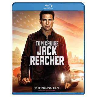 🆕 Jack Reacher Blu Ray