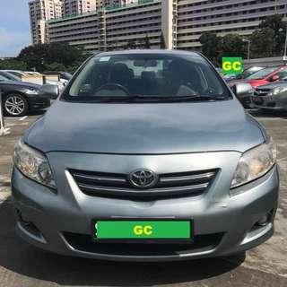Toyota Altis GRAB/UBER RENT