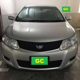 Toyota Allion GRAB/UBER RENT