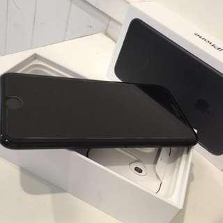 狀況超好 apple iPhone 7 Plus 消光黑 128g 功能全正常 iphone7 + 有98% new 以上
