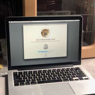 MacBook Pro 13.3' Inch Retina Screen
