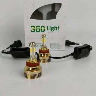 LED 3COLOUR 40W  (ONE YEAR WARRANTY) 1SET RM130 1SET RM145 (H4) COLOUR :3000K / 4300K / 6000K  BULB SIZE: H4 / H7 / H11 / 9005 / 9006