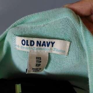 Old navy topper