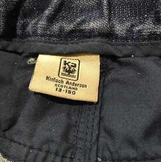 金‧安德森英國名牌kinlock Anderson,w30(鬆緊帶)褲頭