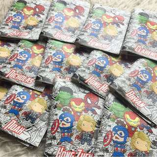 PASSPORT HOLDER CUSTOM - marvel captain america hulk iron man superman wonderwoman