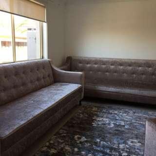 Super soft velvet lounges