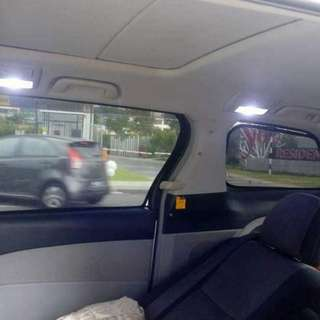 Estima / Vellfire sunshade with clips =6 pcs