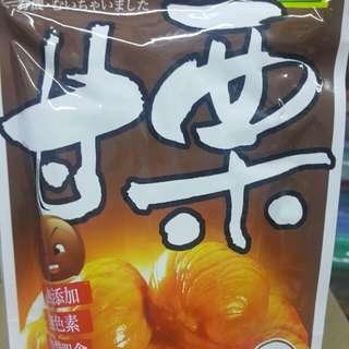 有機甘栗仁 100g  (綠盈坊)