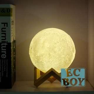 立體月亮燈 3D Moon Lamp