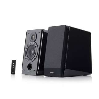 Edifier R1800T III Luxurious 2.0 speaker system with high-gloss, piano finish