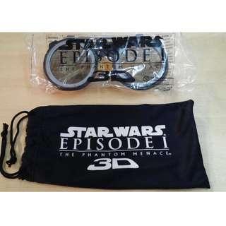 Lucas Film Star Wars: Episode 1 – The Phantom Menace licensed 3D eyewear