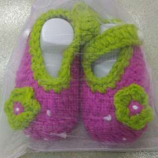 Baby Shoes (kasut kait baby)