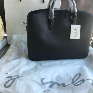 Agnes b 100% new men's bag
