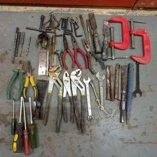 速卖旧工具,全部50元。