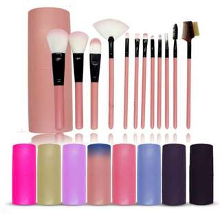 12 Pcs Cosmetic Make Up Brush Kit